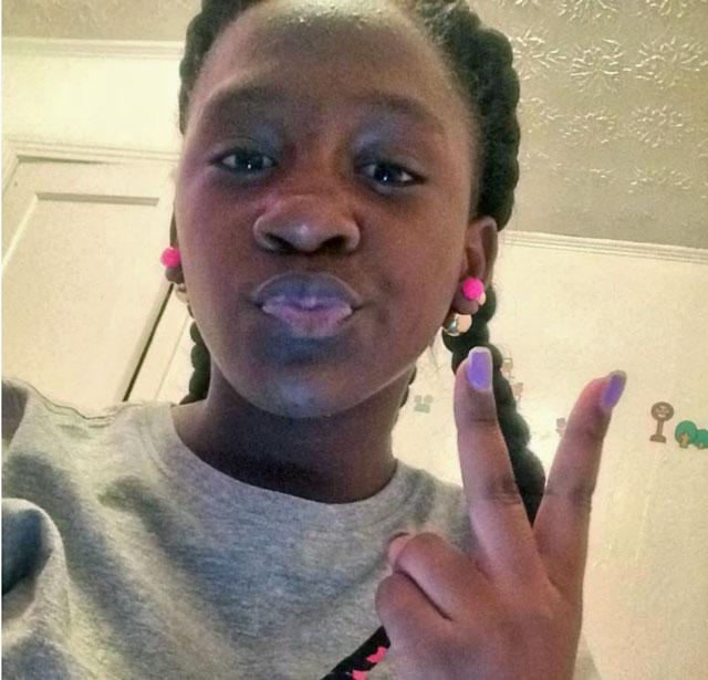 Ramya Eunice, Age 12